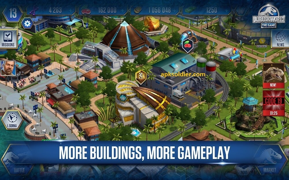 download jurassic world the game